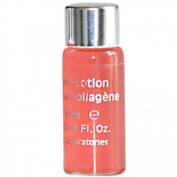 Flacon lotion nourrissante au collagène 5ml