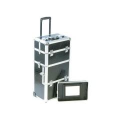 valise à roulettes double étage