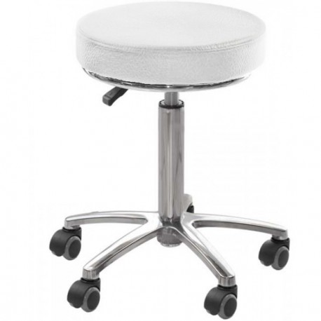 TABOURET BASIC PIED CHROME