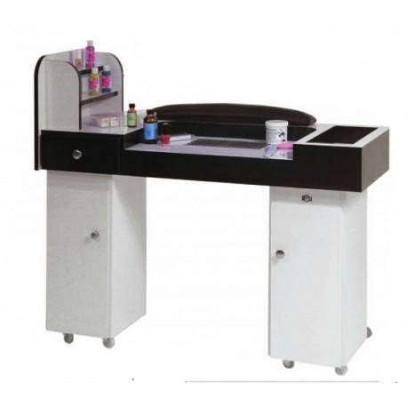 table de manucure vendu chez mondial beaut. Black Bedroom Furniture Sets. Home Design Ideas